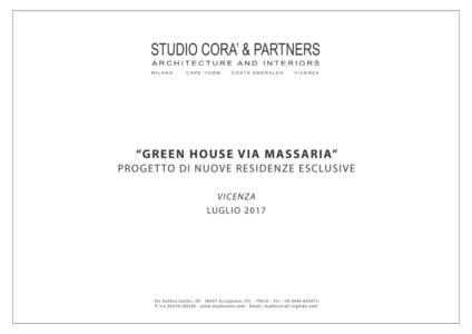 BROCHURE GREEN HOUSE VIA MASSARIA 01