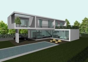 Ville moderne creazzo vi studio cor partners for Architettura ville moderne