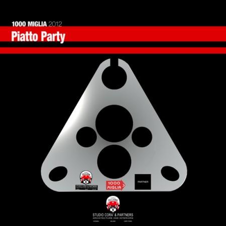 Piatto Party - Studio Corà & Partners