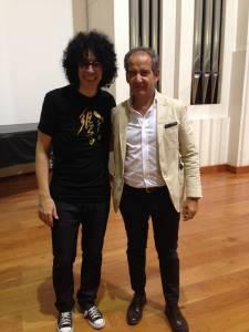 2014-10-13 Inaugurazione Mediolanum Con Giovanni Allevi