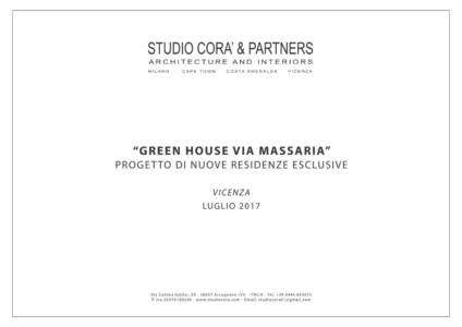 BROCHURE GREEN HOUSE VIA MASSARIA 01